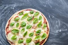 Pizza Margherita Zdjęcie Stock