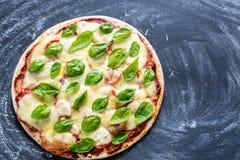 Pizza Margherita Zdjęcie Royalty Free