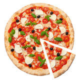 Pizza Margherita Zdjęcia Stock