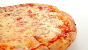Pizza Margherita stock video