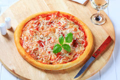 Pizza Margherita Royalty Free Stock Photo