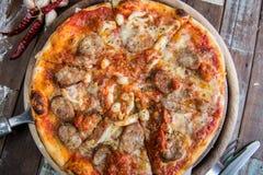 Pizza Margherita Royalty Free Stock Image