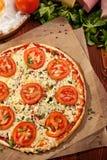 Pizza Margherita Stock Photography