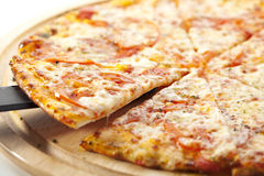 Pizza Margherita Stock Photos