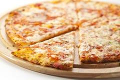Pizza Margherita Stock Photo