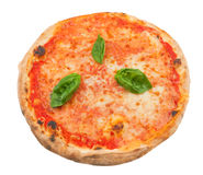 Pizza Margherita Stock Photos