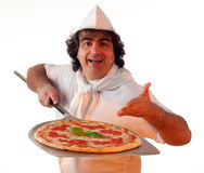 Pizza marker Stock Photos