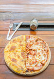 Pizza Meat Lover and cheese Royalty Free Stock Images