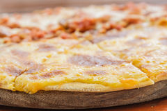 Pizza Meat Lover and cheese Stock Photography