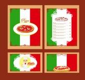 Pizza Menu Royalty Free Stock Photography