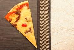 Pizza menu Zdjęcie Royalty Free