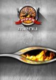 Pizza Menu Design Royalty Free Stock Photography