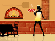 Pizza menu Royalty Free Stock Photos