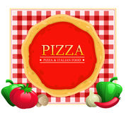 Pizza Menu Restaurant Royalty Free Stock Photo