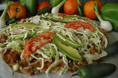 Pizza messicana Fotografia Stock Libera da Diritti