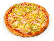 Pizza Mexicana Royalty Free Stock Photo