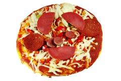 Pizza mezclada fotos de archivo