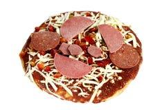 Pizza mezclada congelada fotos de archivo libres de regalías