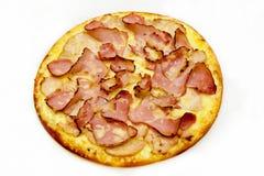 Pizza mit Fleisch 2 Lizenzfreies Stockbild