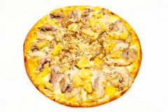 Pizza mit Fleisch 3 Lizenzfreie Stockbilder