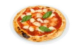 Pizza mit Käse Lizenzfreie Stockfotos