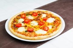 Pizza With Mozarella Stock Image