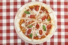 Pizza Mozarella Stock Image