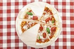 Pizza Mozarella Royalty Free Stock Photo