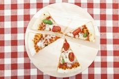 Pizza Mozarella Stock Photo