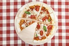 Pizza Mozarella Stock Photos