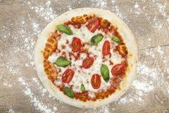 Pizza Mozarella Royalty Free Stock Image
