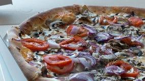 Pizza take away Stock Photography