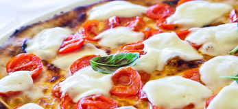 Pizza in Naples stock photo