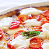 Pizza in Naples Royalty Free Stock Photo