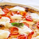 Pizza a Napoli Fotografie Stock