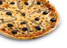 A  pizza Napoli Stock Photos