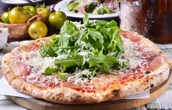 Pizza Napoli Royalty Free Stock Image