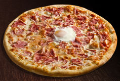Pizza o sole mio Royalty Free Stock Image