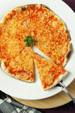 pizza odcinający plasterek Fotografia Stock