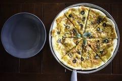 Pizza italiana Fotografia de Stock Royalty Free