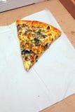 pizza ostatni plasterek Obraz Stock