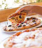 Pizza Royalty Free Stock Photography
