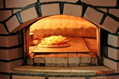 Free Pizza Oven Royalty Free Stock Photos - 4160668