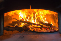 Pizza oven Stock Photo