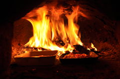 Pizza oven Royalty Free Stock Photos