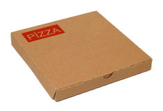 Pizza package Stock Photos
