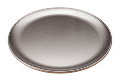 Pizza Pan isolated on white Royalty Free Stock Photo
