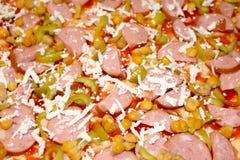 Pizza para comer Imagenes de archivo