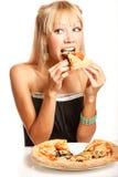 Pizza party! Royalty Free Stock Photos