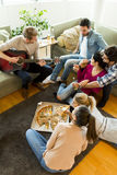 Pizza party Royalty Free Stock Photography
